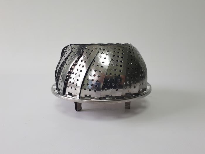 Пароварка лепесток нержавеющая d по дну 18,4 cm.