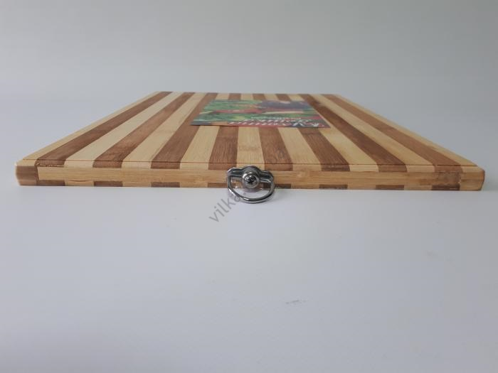 Доска разделочная бамбуковая 32*45 cm, t=1,5 cm.
