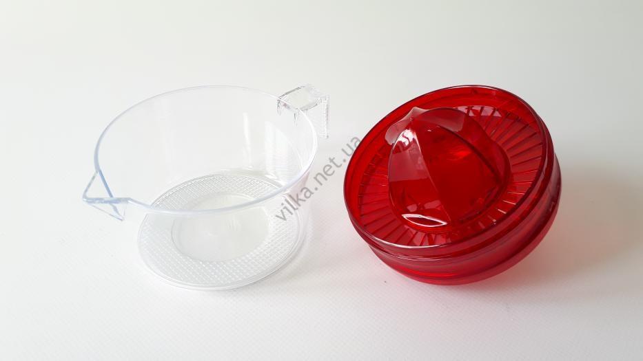 Соковыжималка для цитрусовых пластмассовая DRL 013 d 10 cm, h 9 cm.