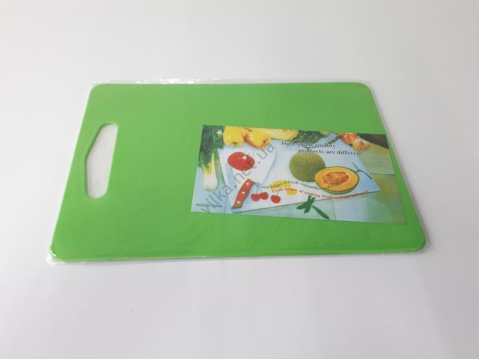 Доска разделочная пластмассовая 30*20 cm, t=0,4 cm.