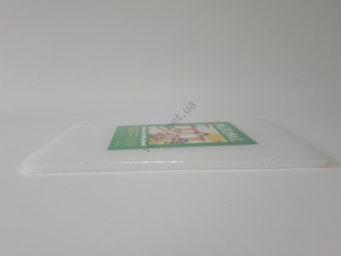 Доска разделочная пластмассовая 37*23 cm, t=1 cm.