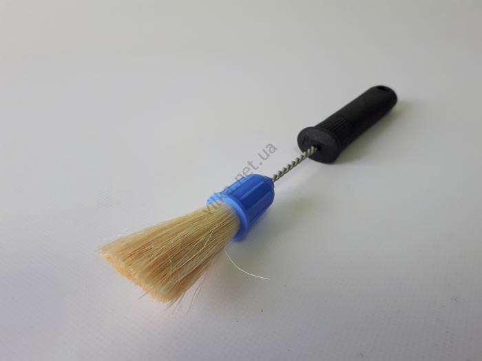 Кисточка кулинарная с пластмассовой ручкой L 26,5 cm.