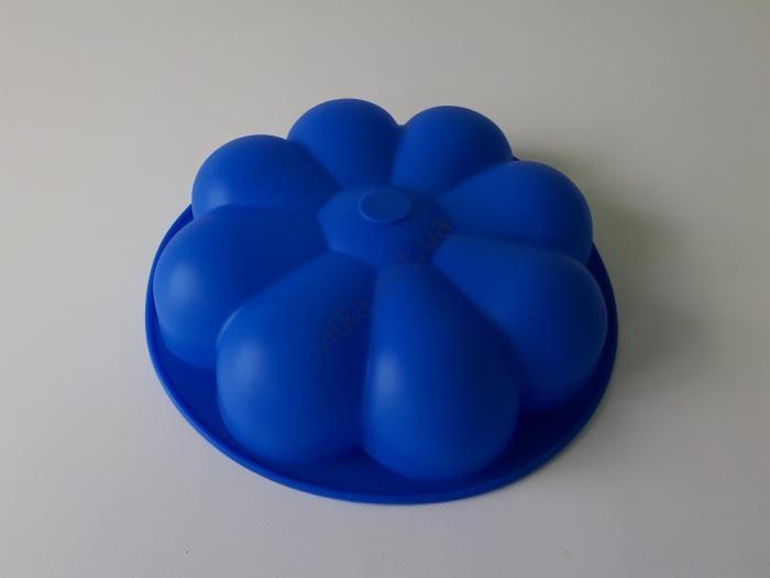 Форма силиконовая  Цветок  d 27; h 6 cm.