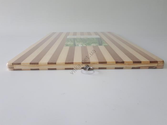 Доска разделочная пластмассовая белая 30*40 cm, t=2 cm.