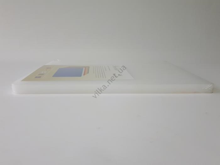 Доска разделочная пластмассовая белая, 47,5*35 cm, t=2,5 cm.