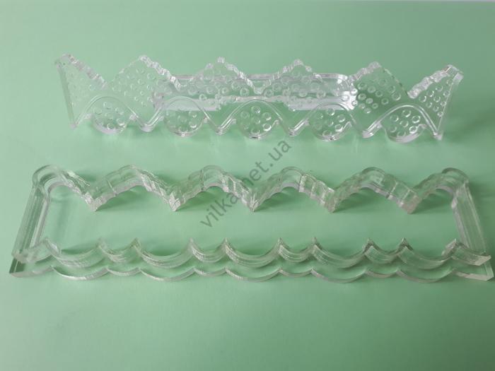 Вырубка кондитерская пластмассовая 15 х 3 см