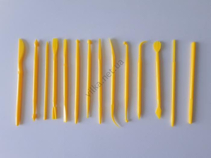 Набор кондитерский пластмассовый из 15-ти L 12 cm.