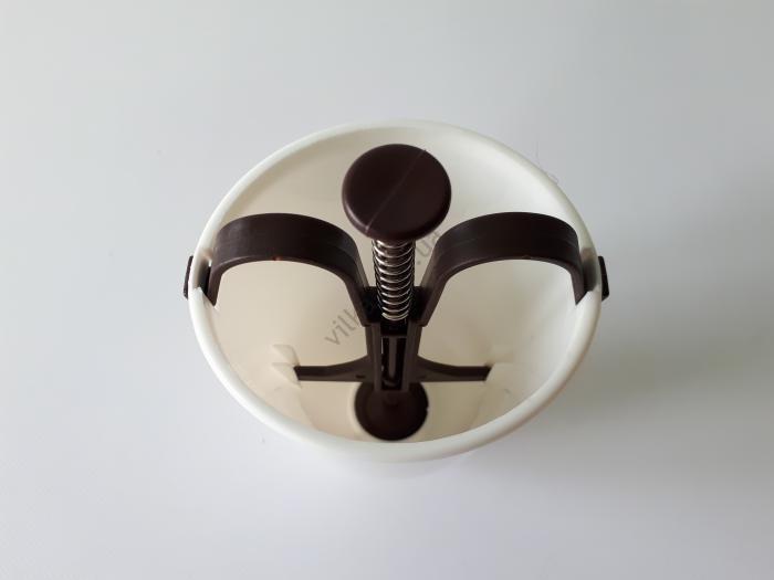 Ёмкость пластмассовая  кондитерская  для пончиков h 18 cm.
