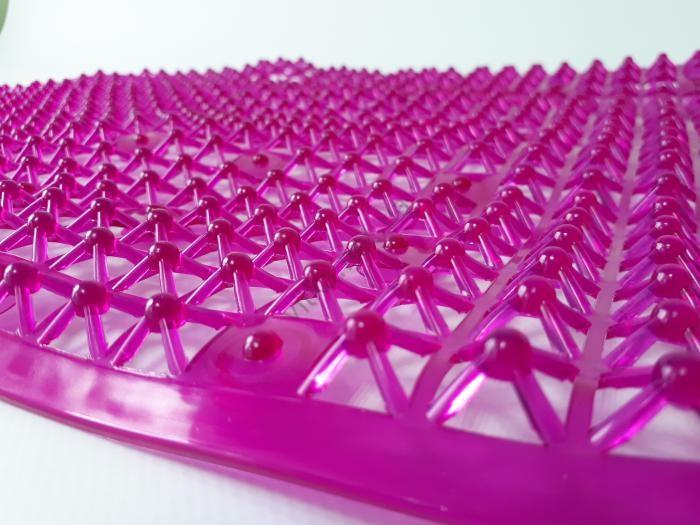 Коврик силиконовый овальный 66 х 36 см.