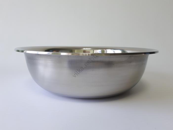 Миска нержавеющая, глубокая в/с d 37 cm, h 11 cm. (6.4 л)