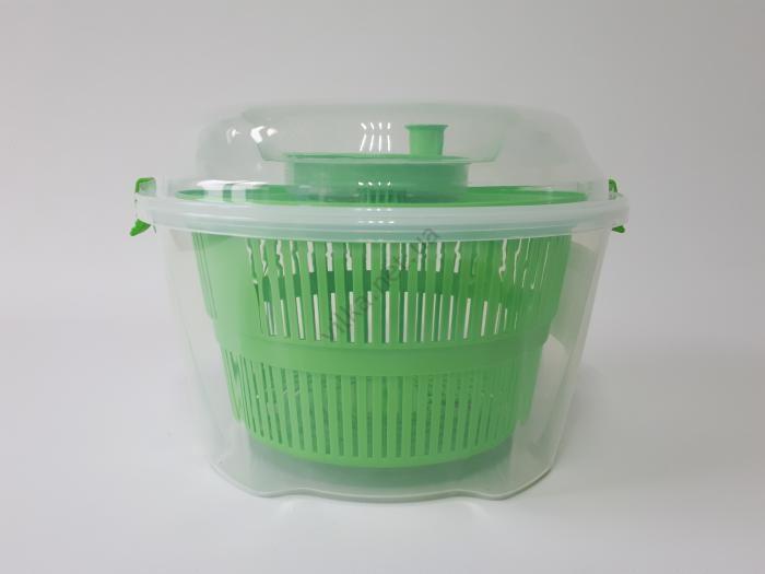 Миска пластмассовая, для мытья и сушки фруктов и зелени G-25 d 24 cm, h 17 cm. (4 л.)