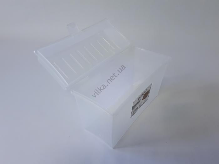 Бокс для хлеба пластиковый G-455 20,5*9 cm, h 13,5 cm.