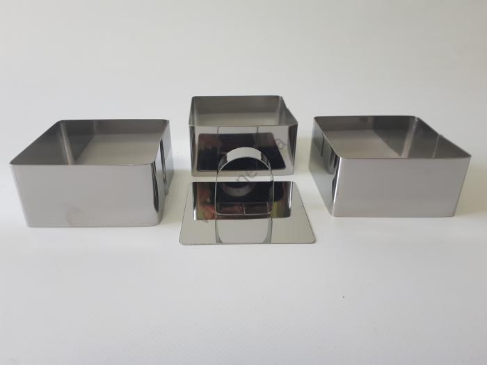 Набор кондитерский Квадратики 8*8 cm; h 4 cm.