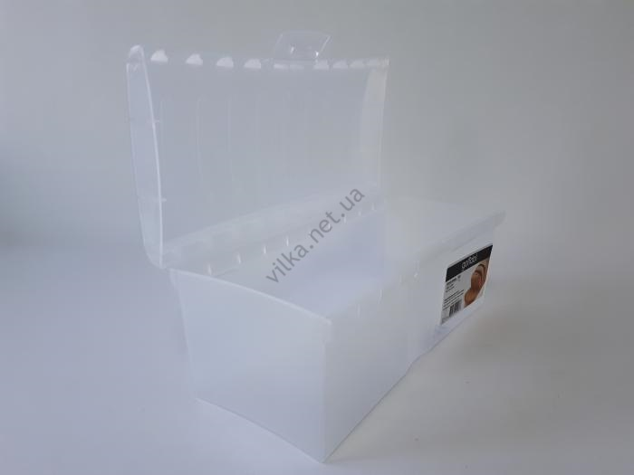 Бокс для хлеба пластиковый G-48 28,5*13 cm, h 12 cm. (3 л.)