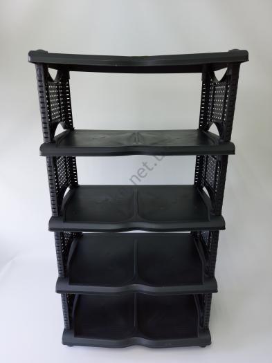 Полка обувная  Ротанг  0733 - 52 x 30 x 95,5 cm