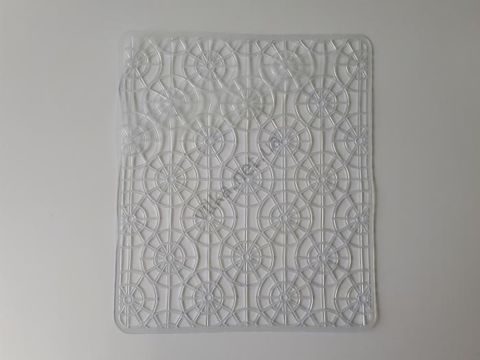 Коврик силиконовый в мойку 29 х 25 см.