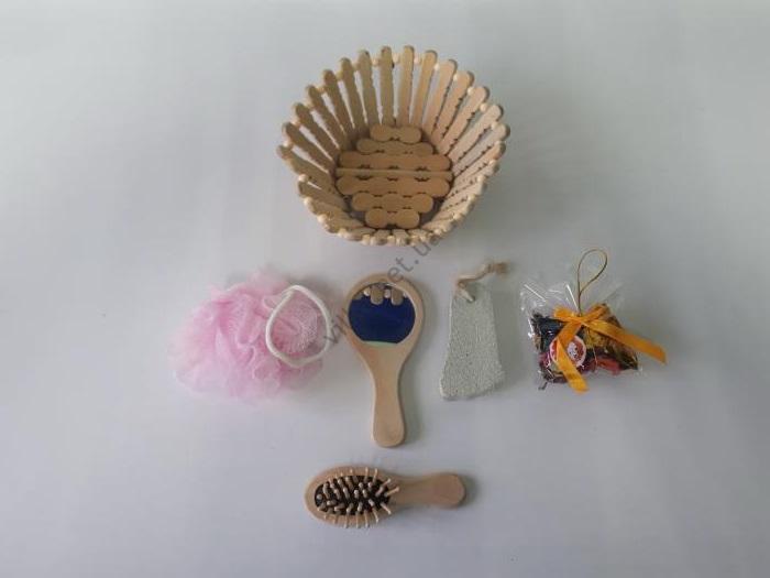 Банные  лепесток  из пяти предметов