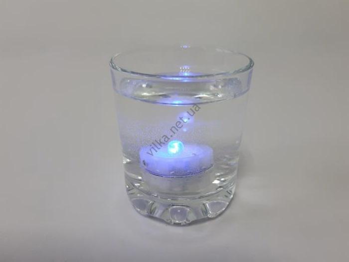 Свеча  меняет цвет 3 х 2 см (водяная свеча)