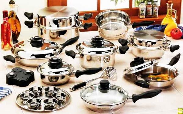 кастрюли, сковородки