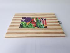 Доска разделочная деревянная полоска 30 х 40 см.