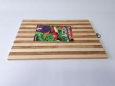 Доска разделочная деревянная полоска 33 х 45 см.