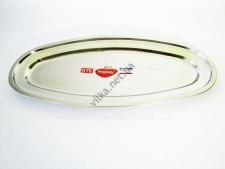 Блюдо для рыбы нержавейка L 65 cm w 29 cm