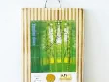 Доска разделочная деревянная прямоугольная 24 х 34