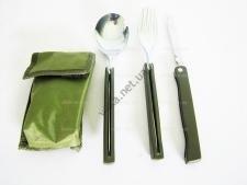 Набор в чехле ложка, вилка, нож