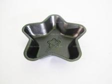Форма порционная для выпечки звезда 12 см.