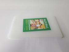 Доска разделочная пластмассовая белая 37,5 х 23,5