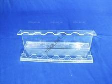 Подставка для ложек, вилок  пластмассовая витринная