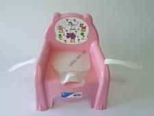 Горшок детский  стульчик с крышкой 30 х 29 х 20 см.