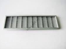 Решетка вентиляционная под алюминий - 22 х 6,5 см.