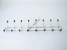Вешалка профиль с деревянным крючком из восьми, L 63,5cm