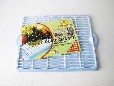 Сушилка для стаканов пластмассовая 4504 - 43 х 34 см.