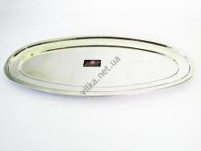 Блюдо для рыбы нержавейка L 70 cm w 30 cm