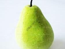Груша зеленая с инеем - 10 см.