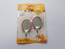 Крючки в наборе из 2-х  Зеркало  7 х 4 см.