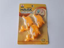 Крючки в наборе из 3-х  Дельфины 6 х 3 см.