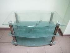 Тумбочка под TV стекло 85 x 50 cm; h 51,5 cm