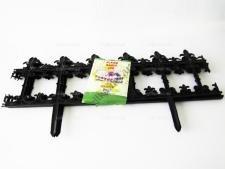 Заборчик садовый пластмассовый из 4-х w 85 cm h 26 cm