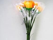 Набор свечей из 11-ти 31 см. Розы