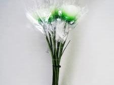 Набор свечей из 11-ти 31 см.  Розы 09871