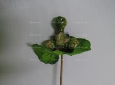Фигурка на листике Улитка