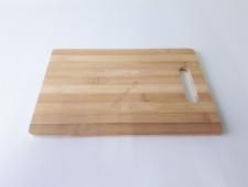 Доска деревянная с полосками 18 х 28 х 0,9