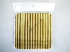 Доска деревянная с полосками  15,5 х 15,5 х 0,9