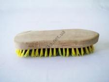 Щётка с деревянной  ручкой жёсткая