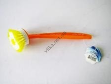Щётка с ручкой ТР-124 для посуды круглая