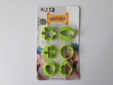 Форма для печенья пластмассовая круглая G59