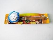 Щетка деревянная с ручкой 21 см.  №9
